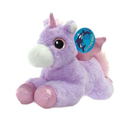 Amazon Com  Wildream Purple Unicorn Sparkle Big Eyes 11 , Unicorn
