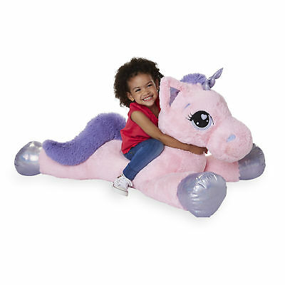 Animal Alley 45 Inch Jumbo Stuffed Unicorn
