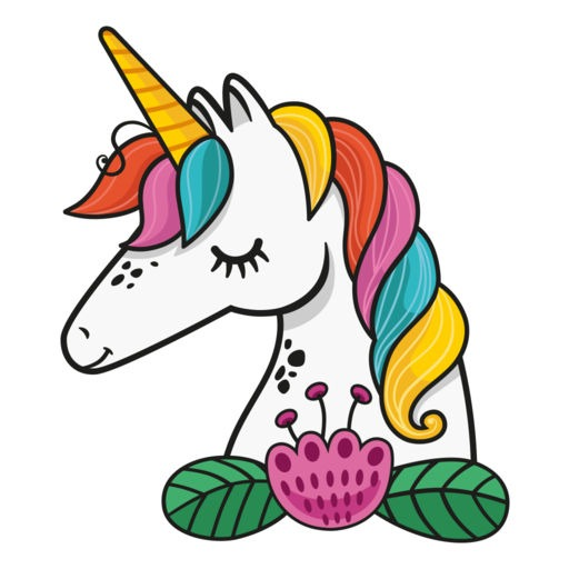 Animated Unicorn Stickers By Pixel Envision Ltd