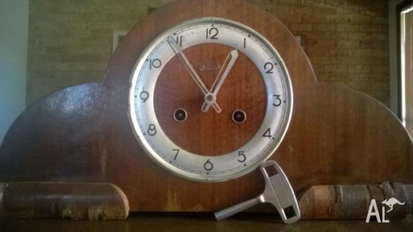 Antique Clock Fhs Unicorn (made In Germany) 1940's For Sale In