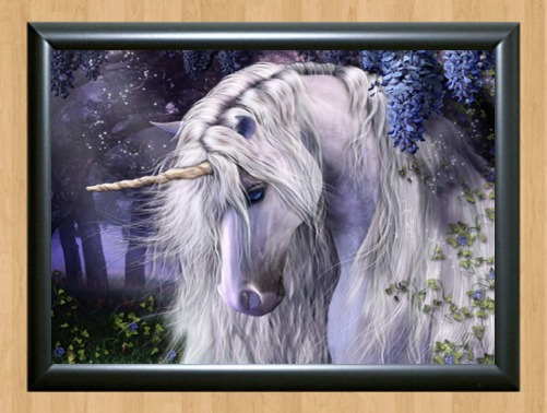 Beautiful Fantasy Unicorn Quality Wall Kid Art Photo Print Poster