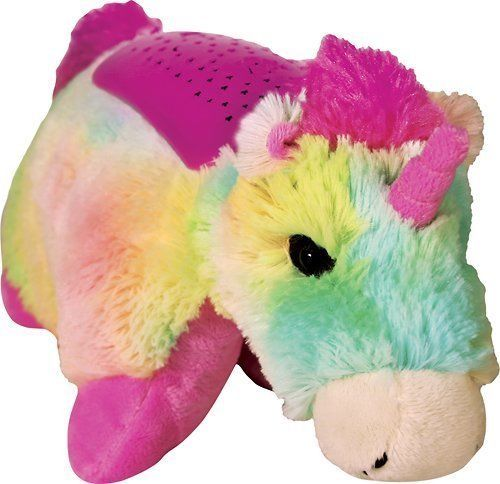 Dreamlites Pillow Pet Rainbow Unicorn