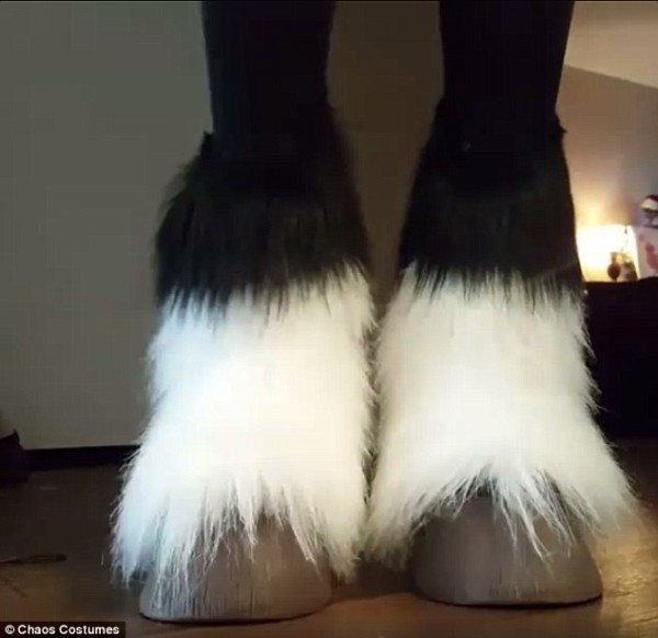 Chaos Costumes' Horse Hoof Shoes Send The Internet Into A Frenzy