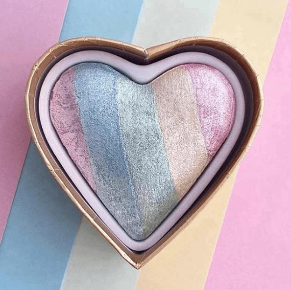 Clearance I Heart Makeup Blusher Unicorn Blush Heart Shape High