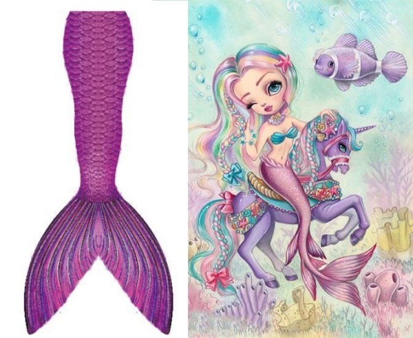 Custom Swimmable Mermaid Tails With Monofin