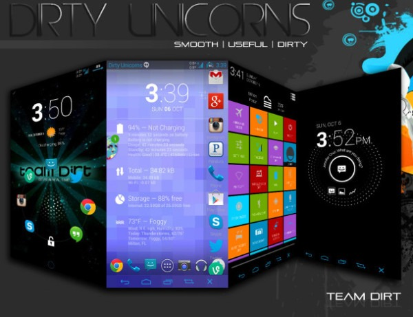 Dirty Unicorns Android 4 3 Evo 4g Lte Rom Released