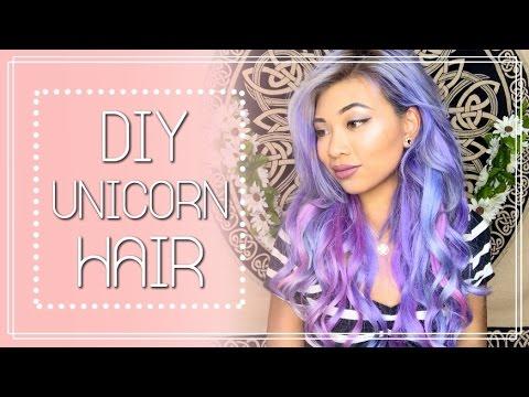 Diy Unicorn Hair Tutorial