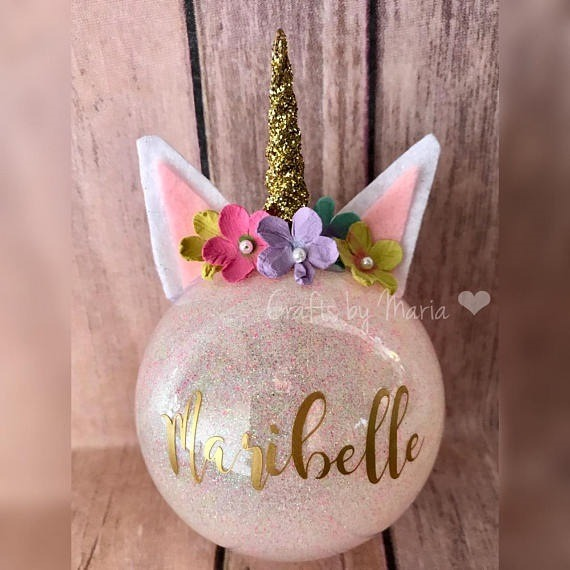 Diy Unicorn Ornaments