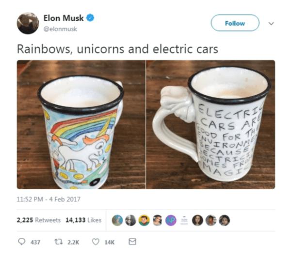 Elon Musk & The Farting Unicorn  Cartoon Dispute Drags Tesla Boss
