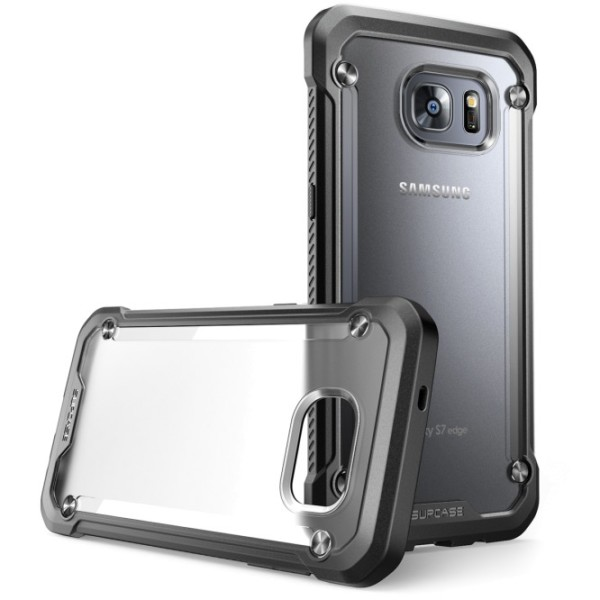 Galaxy S7 Edge Unicorn Beetle Hybrid Protective Bumper Case