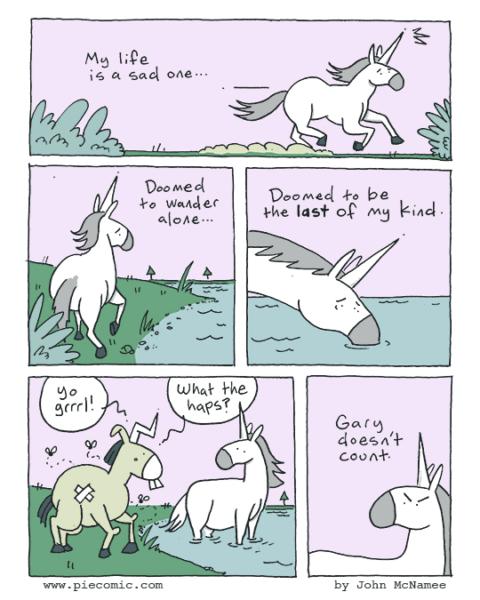 Gary Is The Real Reason Unicorns Went Extinct