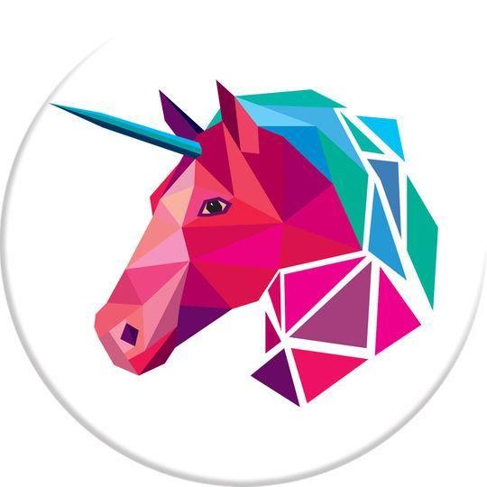 Geometric Unicorn Popsocket – The Grapevine Boutique