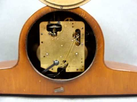 Germany F H S  Hermle Chiming Mantel Clock