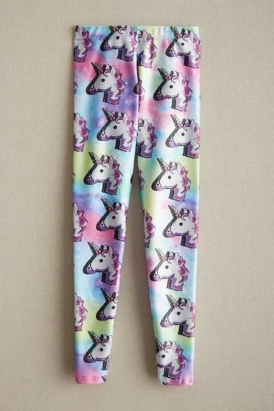 Girls Terez Unicorn Leggings