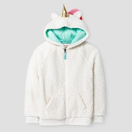 Girls' Unicorn Cozy Hoodie Cat & Jack™