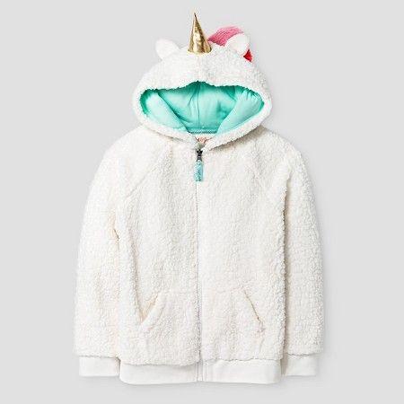 Girls' Unicorn Cozy Hoodie Cat & Jack™
