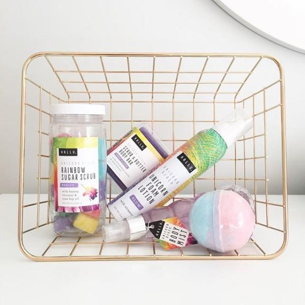 Hallu Unicorn Bath Bomb And Body Products