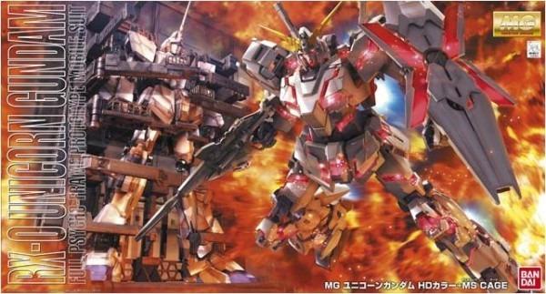 Hobby Plaza Bigman  Bandai 1   100 Scale Mg ' Unicorn Gundam Hd