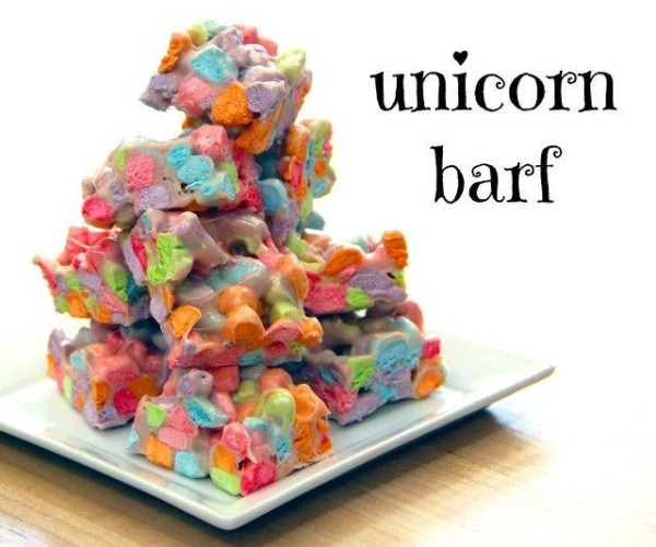 How To  Make Your Own Unicorn Puke Dessert Treats