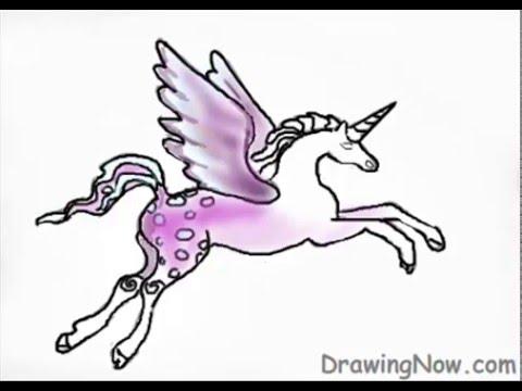 How To Draw A Fantasy Unicorn