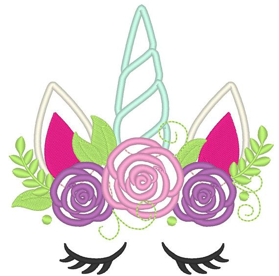 Image Result For Free Unicorn Embroidery Design