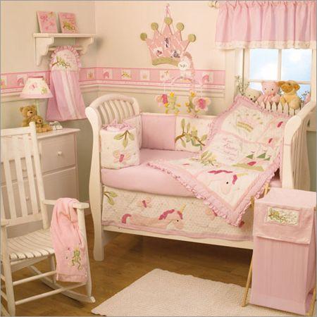 Infant Girl Unicorn Bedding