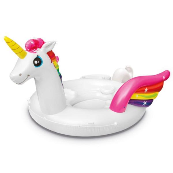 Intex 57266ep Adult Inflatable Unicorn Party Island Pool Lounger
