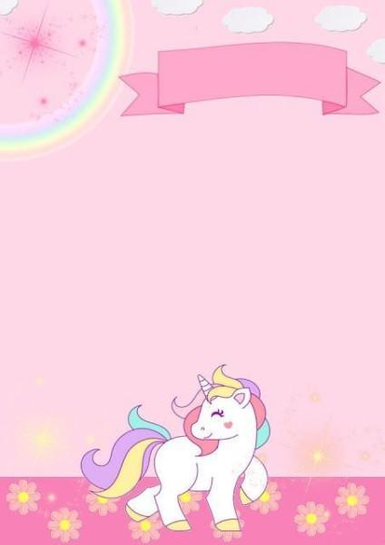 Invitation Unicorn, Birthday Invitations, Birthday Party