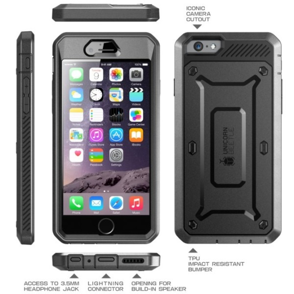 Iphone 6s & 6 Unicorn Beetle Pro Full Body Rugged Holster Case
