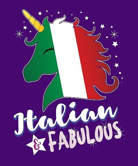 Italian & Fabulous Unicorn  Posters By Zeno27