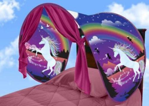 Kids Dream Tents Unicorn Fantasy Foldable Tent Outdoor Camping