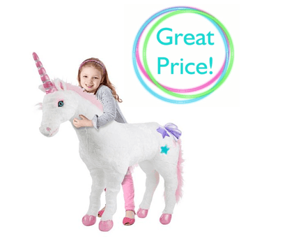 Kohl's  Melissa & Doug Plush Unicorn $44 10 (reg  $99)