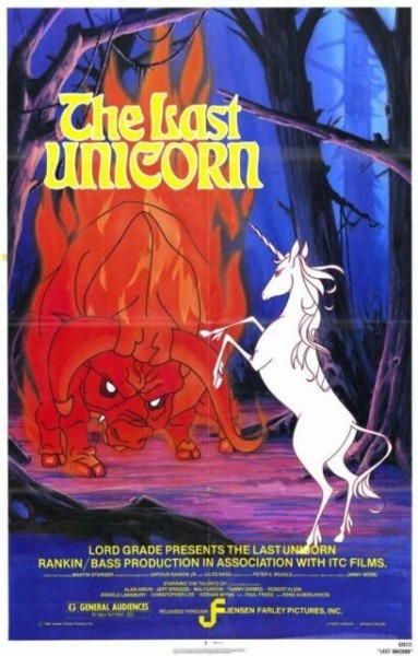 Last Unicorn Poster Movie 11 X 17 In