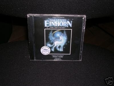 Last Unicorn Soundtrack Cd New Webb America Rare