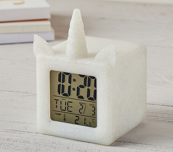Light Up Unicorn Digital Clock