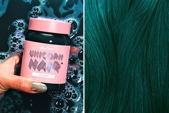 Lome Crime Dark Unicorn Hair, Odcień Sea Witch  Koloryzacja Bez