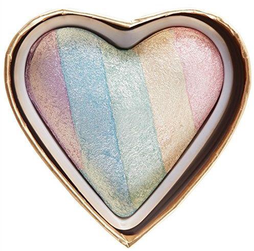 Makeup Revolution Unicorn Heart Blushing Hearts Triple Baked