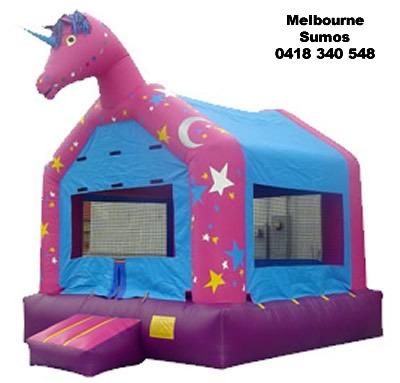 Melbourne Sumos Unicorn Castle
