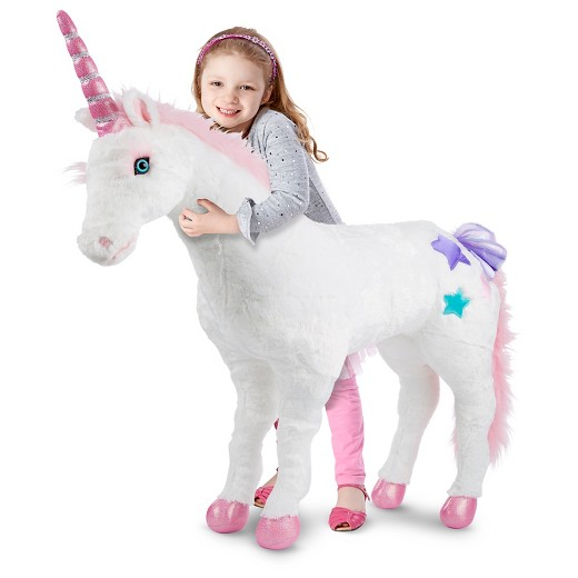 Melissa & Doug Plush Unicorn For As Low As $47 59 + Free In Store