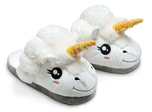 Mythical Beast Slippers   Unicorn Slippers