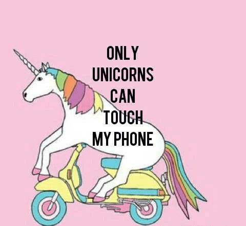 Only Unicorns Shared By Sena On We Heart It