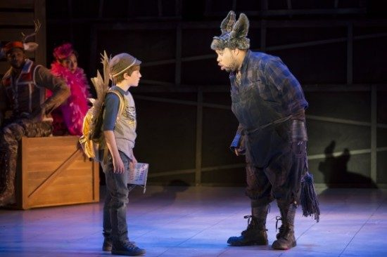 Opera Review  'the Lion, The Unicorn, And Me' Presented By