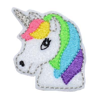 Pft001emb Unicorn Head Embroidery File