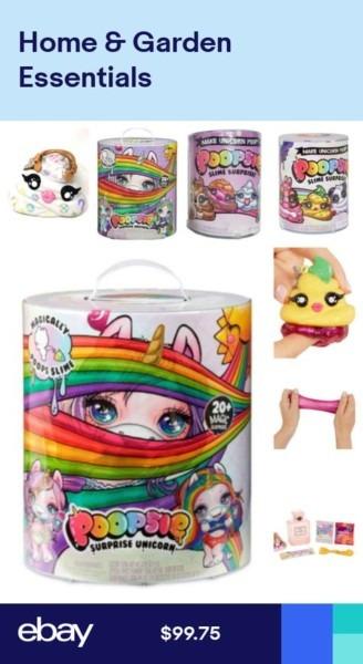 Poopsie Surprise Unicorn Or Slime Blind Pack Or Pooey Puitton Poop