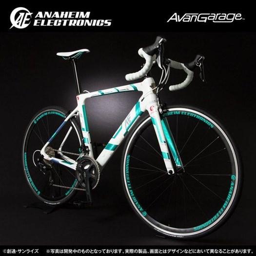 Premium Bandai Unicorn Gundam Inspired Road Bikes