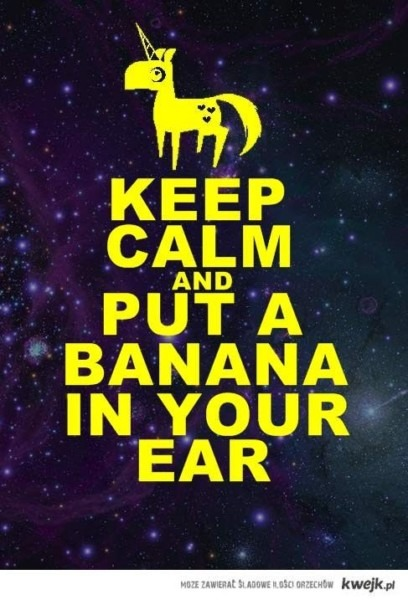Put A Banana In Your Ear!!
