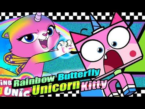Rainbow Butterfly Unicorn Kitty (whut Is This ) Unikitty Rip