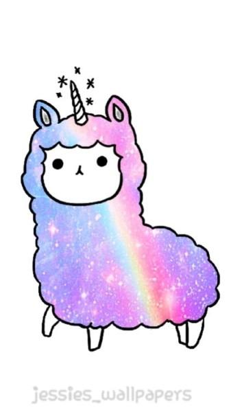Rainbow Llamacorn Uploaded By αℓℯxα On We Heart It