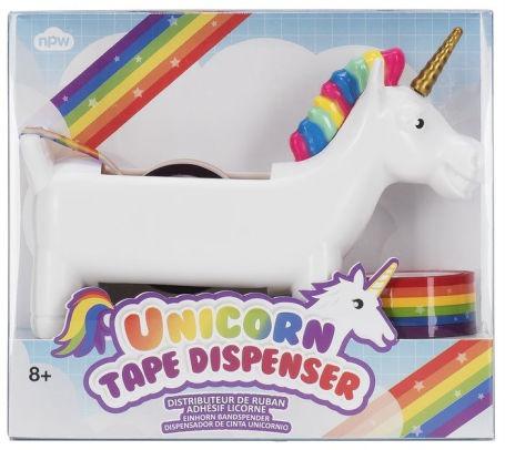 Rainbow Unicorn Tape Dispenser