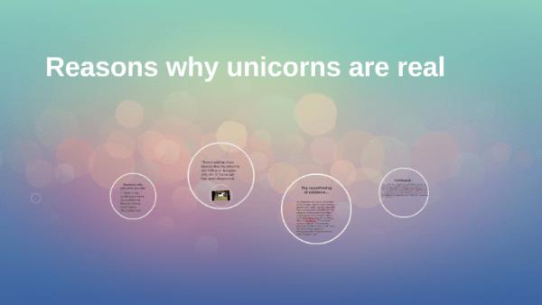 Reasons Why Unicorns Are Real  By Phoenix Simeon On Prezi